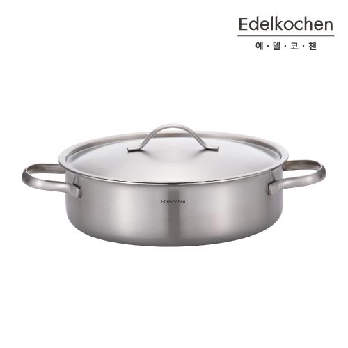 에델코첸 에디션 통3중 IH 스텐냄비 전골24
